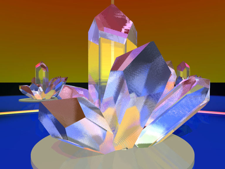 Quarz‐Kristall