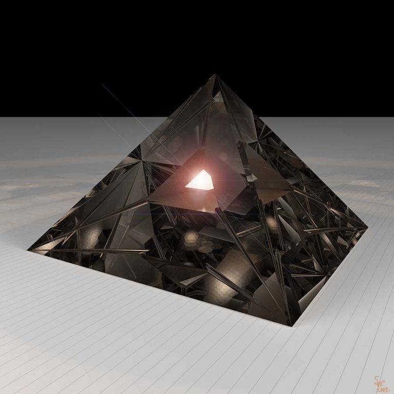 Pyramide des Lichts