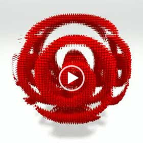 Red Orb — Spinning Spiral