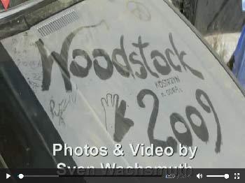"""Videocollage aus Fotos zum Festival """"Haltestelle Woodstock 2009"""" in Polen"""