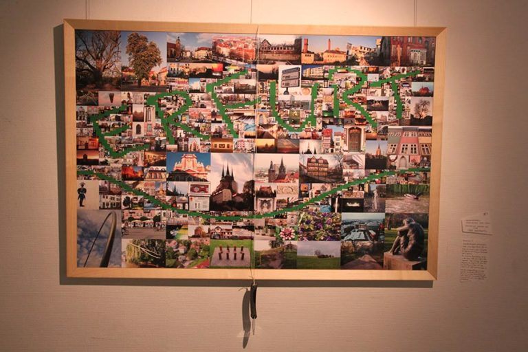 Generative Fotocollage 'Erfurt'