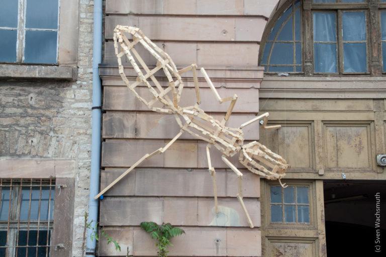 Beteiligung an der Ausstellung 'VISITE' auf dem Petersberg