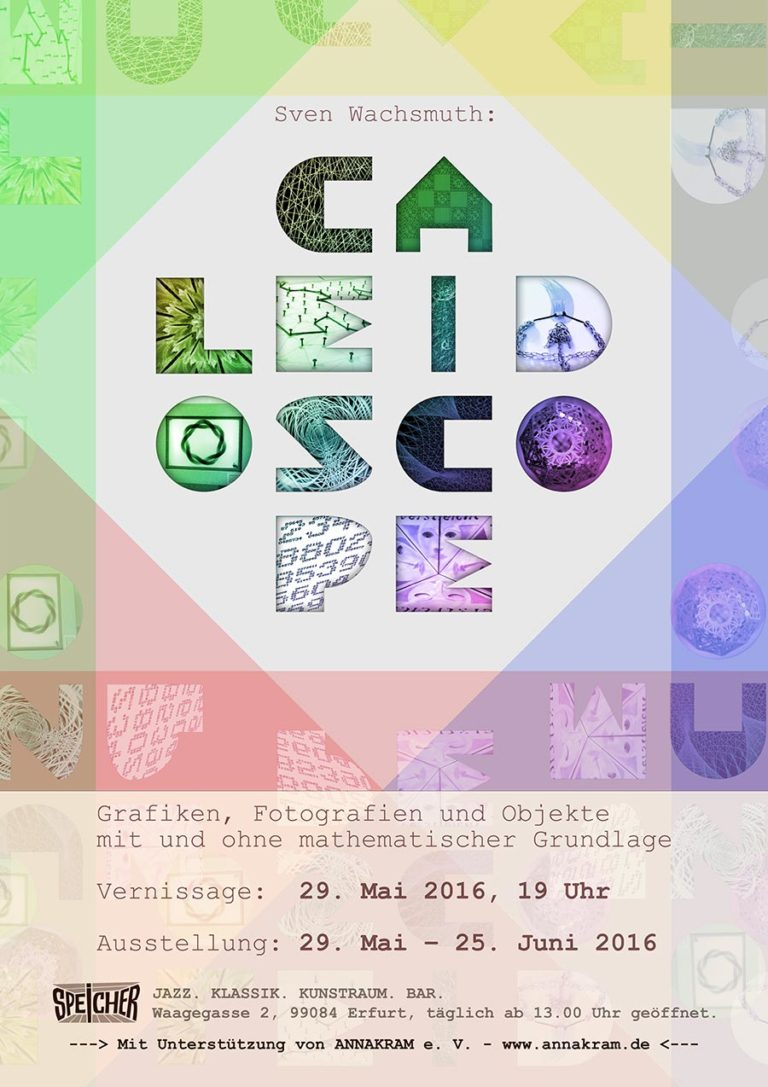 Ausstellung 'CALEIDOSCOPE', Speicher Erfurt