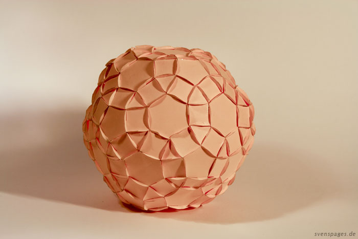 3D-Stecksystem aus Papier