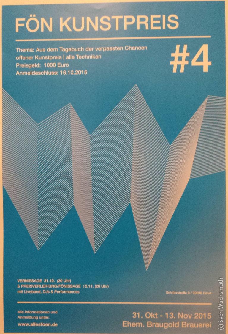 FÖN-Kunstpreis #4: 'Aus dem Tagebuch der verpassten Chancen'