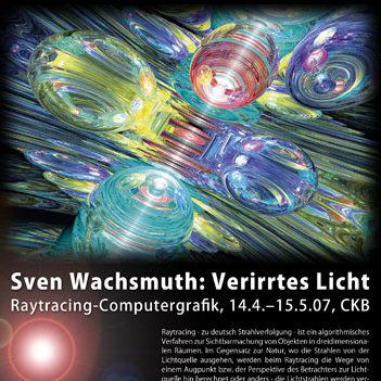 Ausstellung 'Verirrtes Licht' im CKB (Cafe Kunst Bar), Erfurt