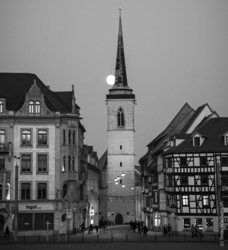Spaziergang durch Erfurt