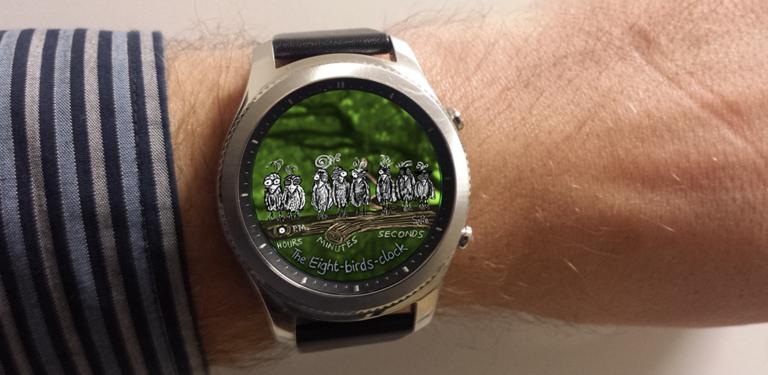 Eigenes Watchface für Samsung Gear