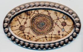 """Motiv #35 """"hyperbolische Routen durch die Galaxis"""""""